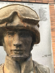 Veteran's Memorial Park - Soldier Face