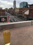 Lower Broadway Rooftop View