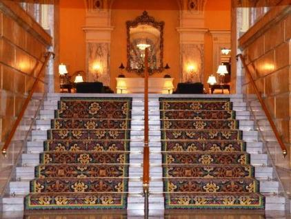 The Hermitage Hotel - Stairway Entrance