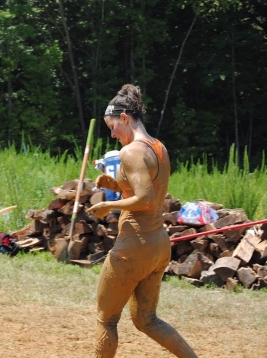 Spartan Sprint Finish Line