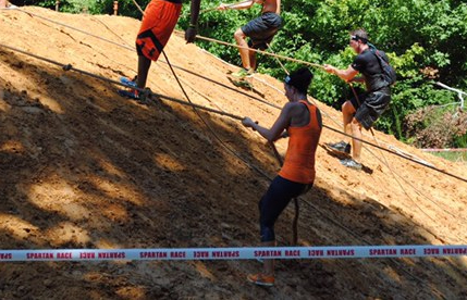Spartan Sprint Obstacle