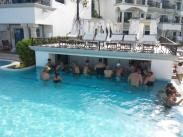 The Royal Pool Swim Up Bar