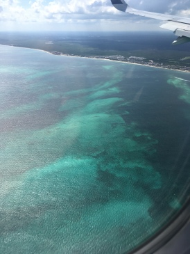 Flying Into Cancun