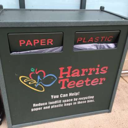 Harris Teeter bag recycling
